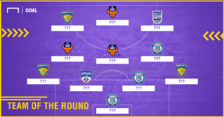 ISL 2017 Team of the Round 4