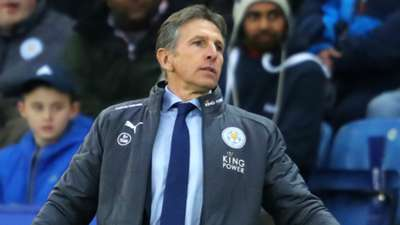 Claude Puel Leicester City