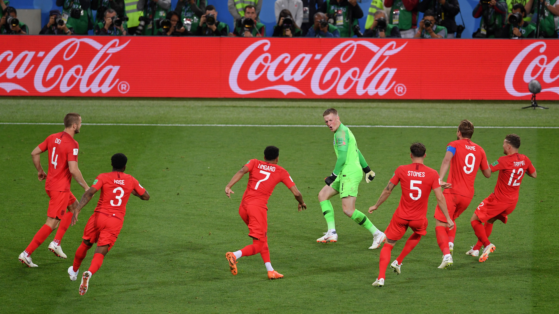 England Jordan Pickford World Cup Colombia 030718