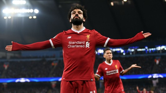 Mohamed Salah Liverpool Manchester City Champions League