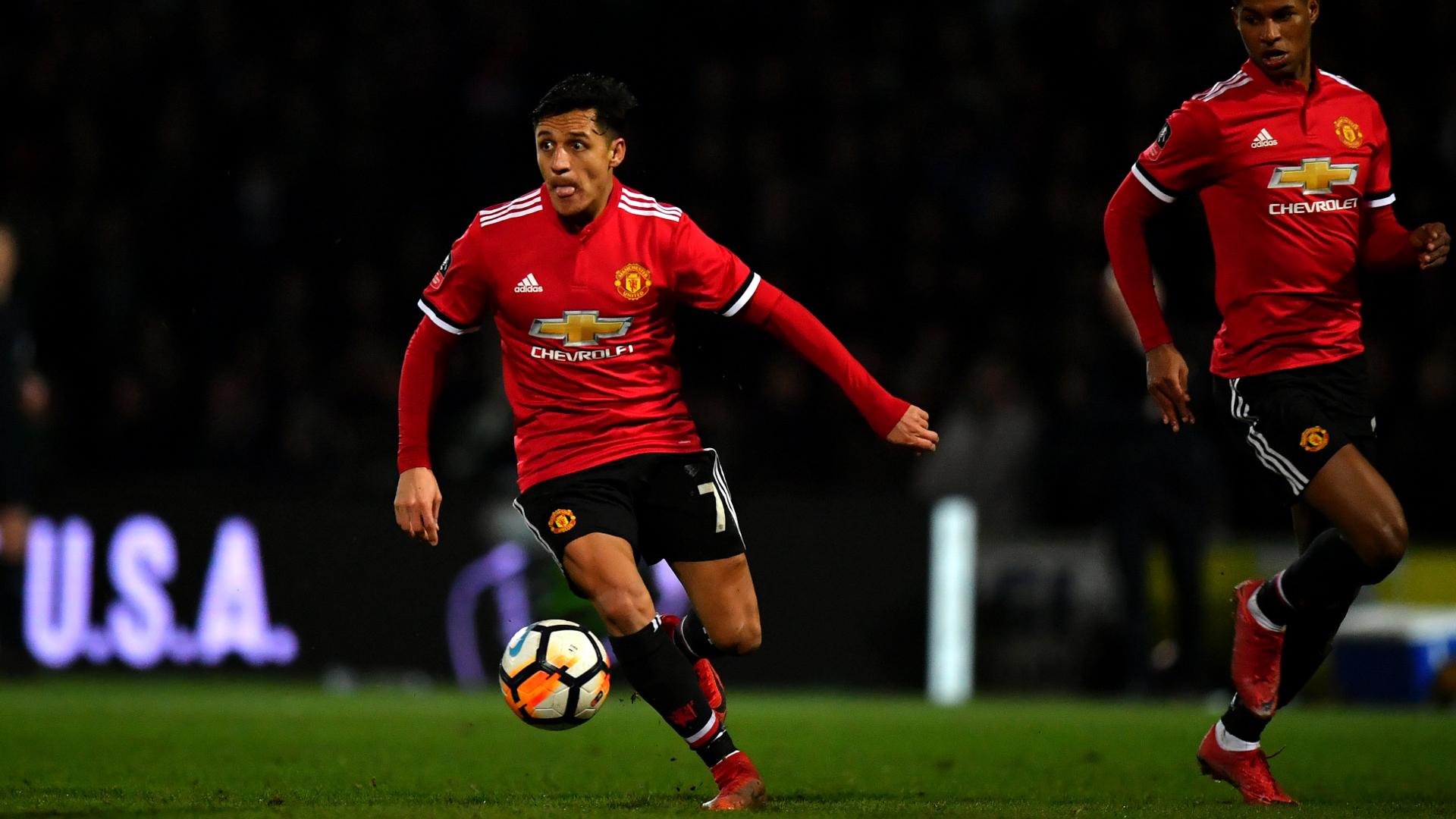 Sanchez stars on manchester united debut to cap mourinhos perfect alexis sanchez manchester united voltagebd Image collections