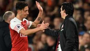 Mesut Özil Unai Emery Arsenal 21012019