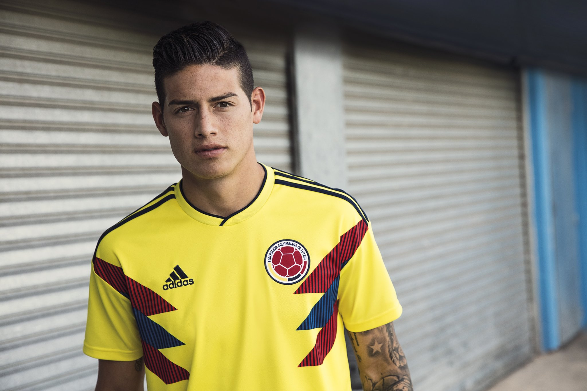 James Colombia WC shirt