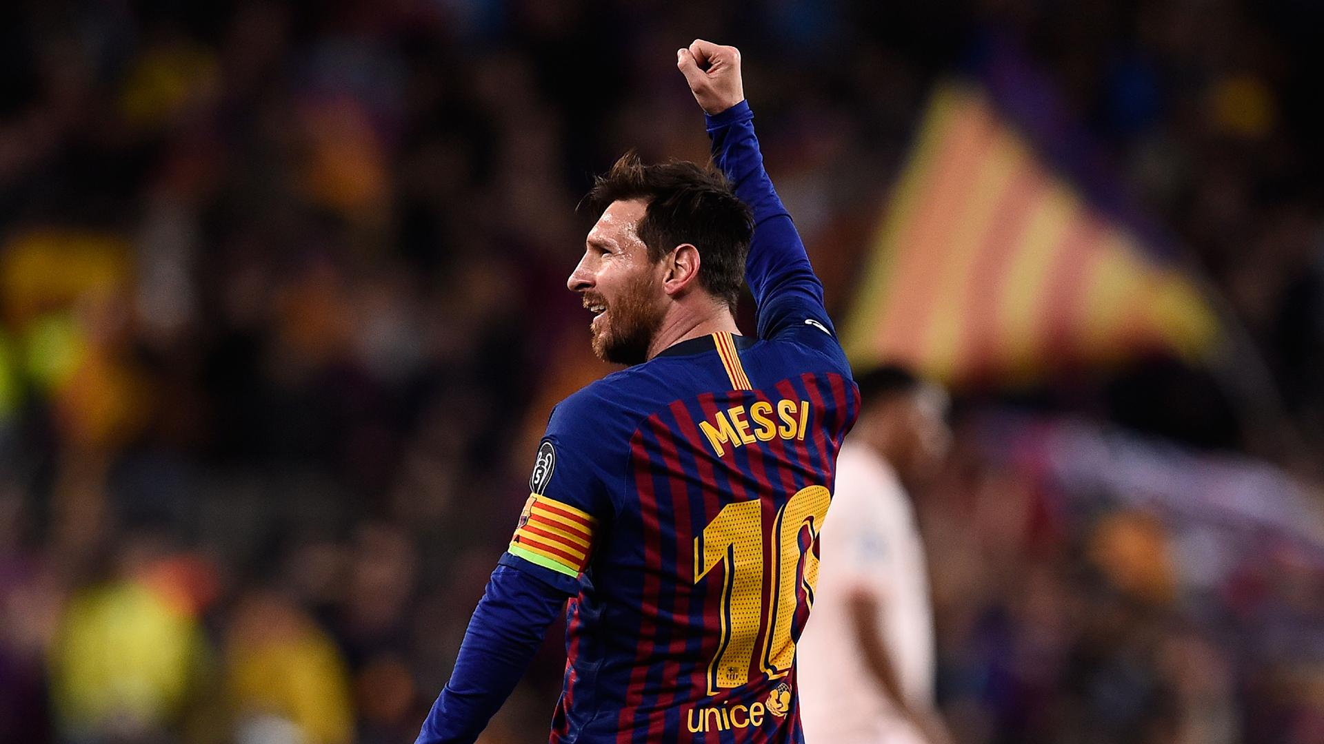 Barcelona win La Liga: Brilliant Lionel Messi turns ...