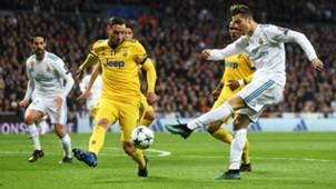 Cristiano Ronaldo Mattia De Sciglio Real Madrid Juventus