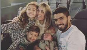 Luis Suárez familia