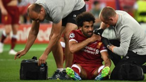 Real Madrid Mohamed Salah Liverpool Champions League 2018