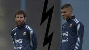 Messi Icardi Argentina