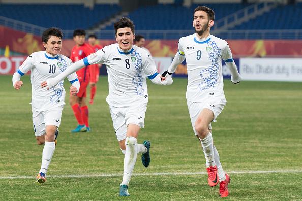 U23 Uzbekistan VCK U23 châu Á 2018