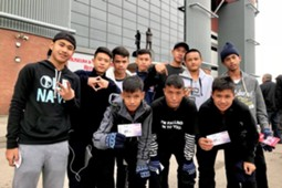 Chang Junior Champions Trip to England 2018