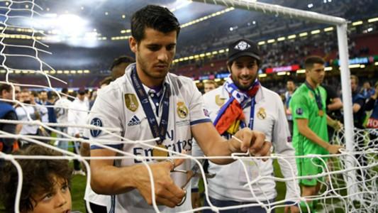 Alvaro Morata Real Madrid 2017
