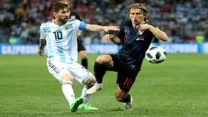 croatia argentina - lionel messi luka modric - world cup - 21062018