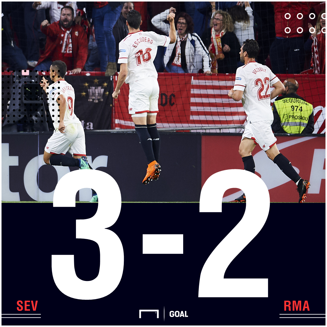Sevilla Real Madrid score