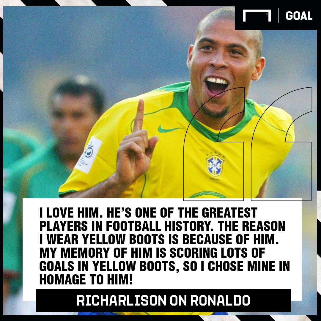 Richarlison on Ronaldo 2019