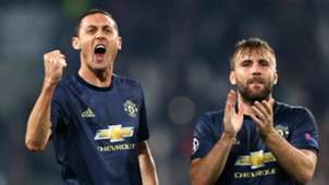 Nemanja Matic Luke Shaw Juventus Manchester United Champions League 2018-19