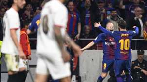 Iniesta Messi Sevilla Barcelona Copa del Rey