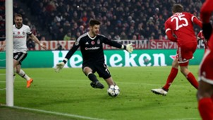 Thomas Muller Bayern Munchen Besiktas Champions League 20022018
