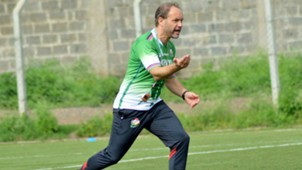 Harambee Stars coach Sebastiene Migne