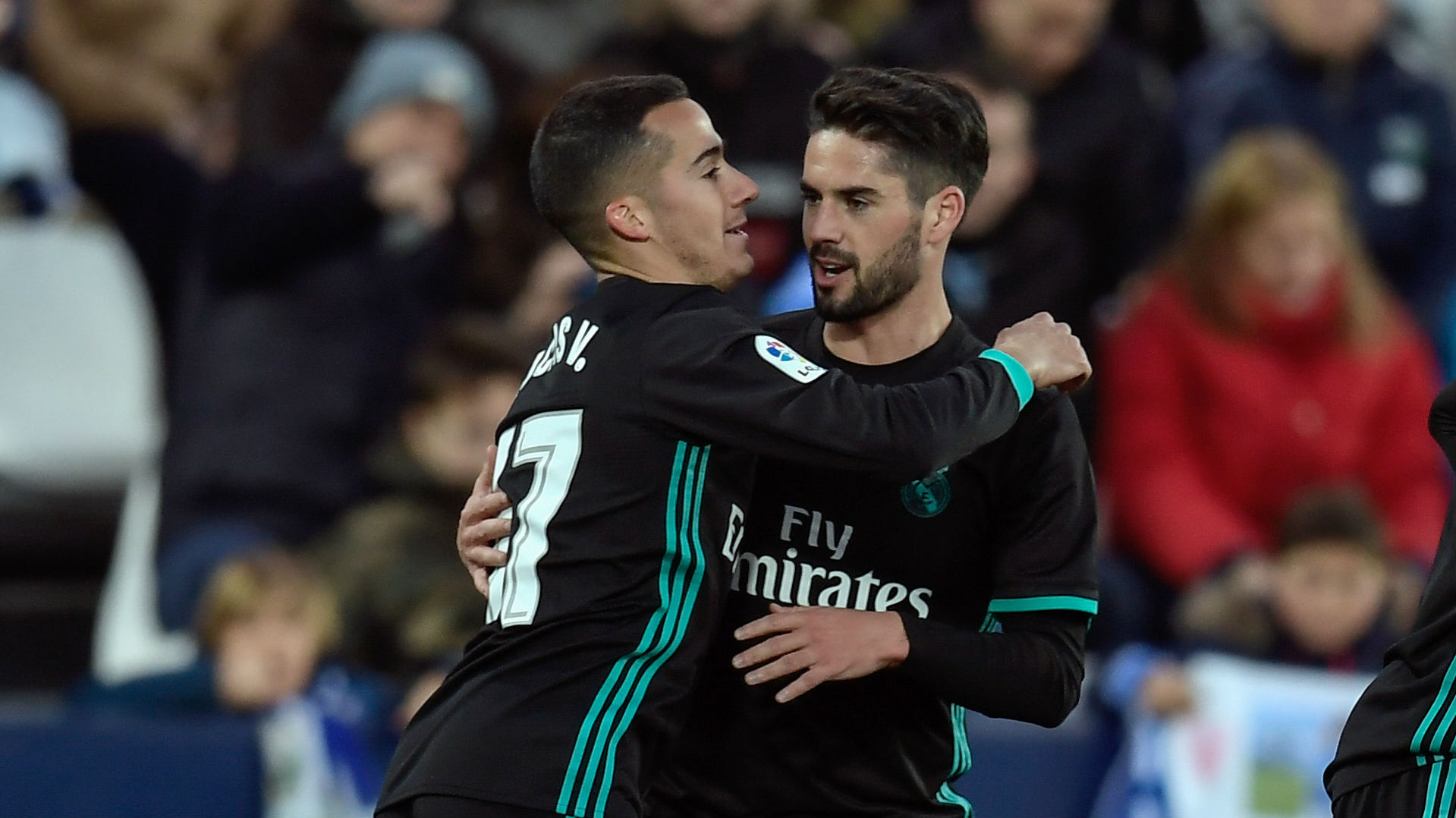 Lucas Vazquez, Isco, Real Madrid