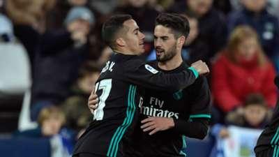 Lucas Vazquez, Isco, Real Madrid