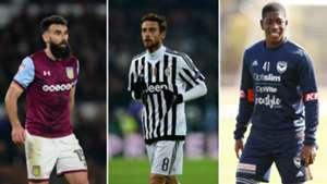 Mile Jedinak/ Claudio Marchisio/ Leroy George