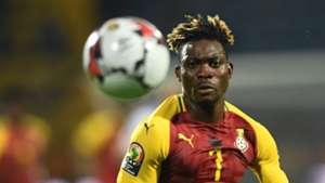 Christian Atsu of Ghana during the 2019 Africa Cup of Nations