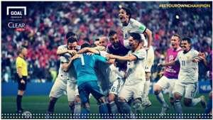 Cover match report Spanyol vs Rusia