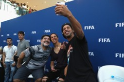 FIFA legends in Bahrain