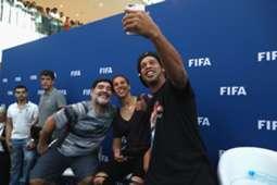 FIFA legends in Bahrain