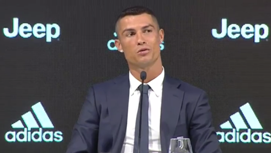 Cristiano Ronaldo Juventus Press Conference
