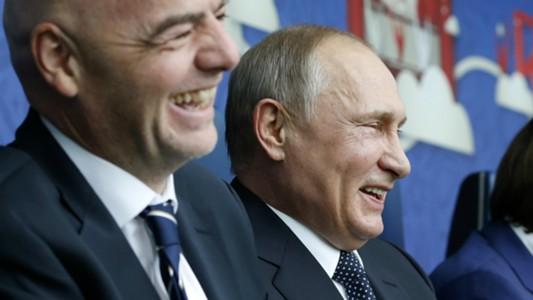 Vladimir Putin Confederations Cup