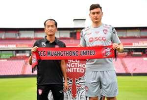 Dang Van Lam & Pairoj Borwonwatanadilok Muangthong United