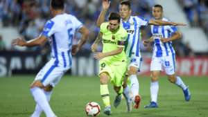 Lionel Messi Leganes Barcelona LaLiga 26092018