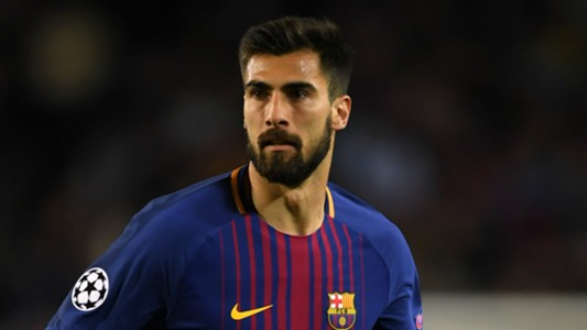 Andre Gomes Barcelona 2017-18