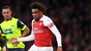 Alex Iwobi, Arsenal vs. Huddersfield