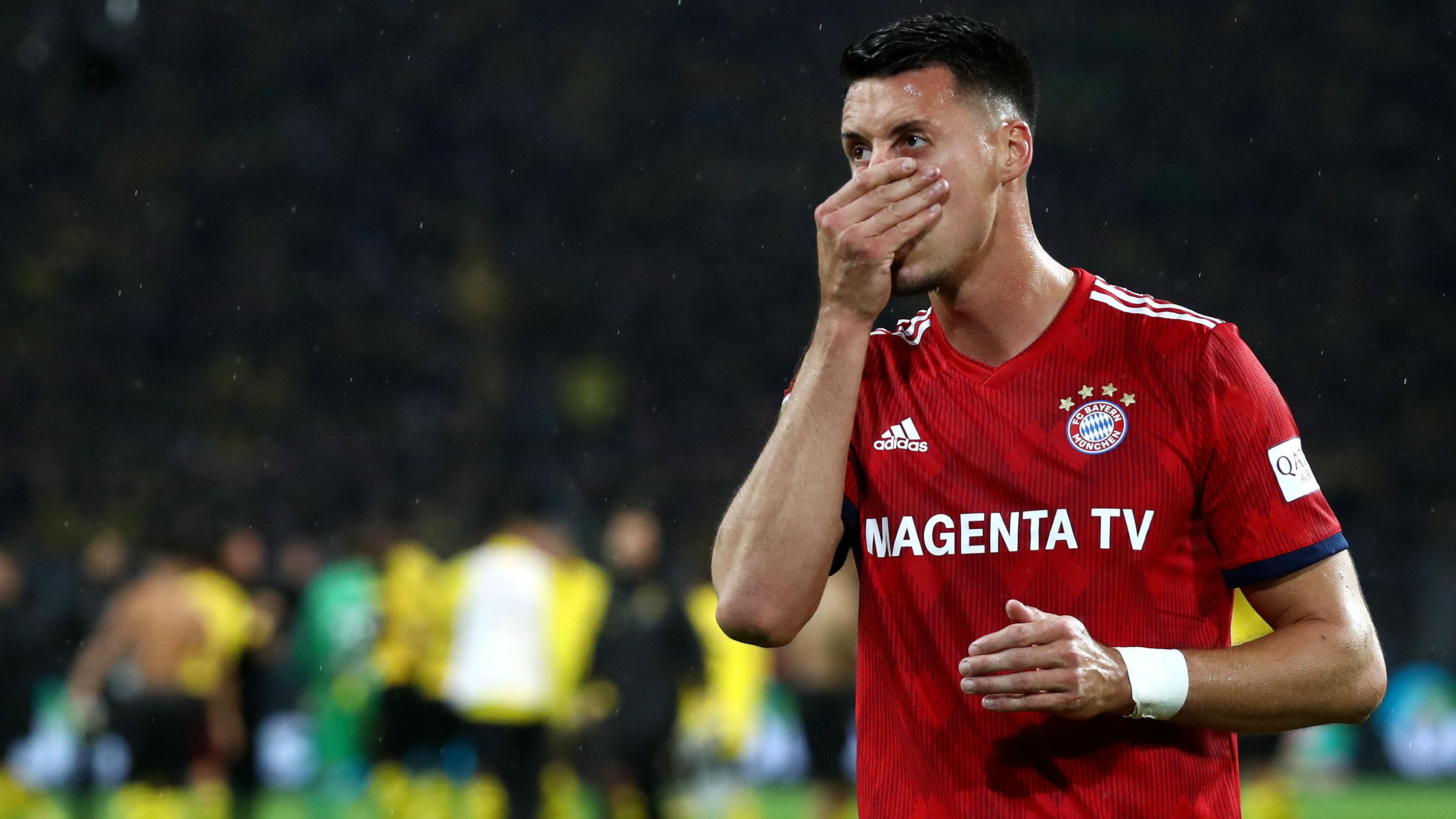 Sandro Wagner FC Bayern BVB
