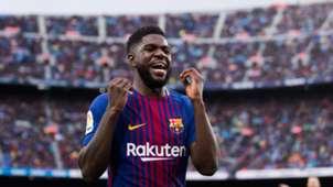 FC Barcelona Samuel Umtiti 04032018