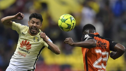Oribe Peralta Oscar Murillo America Pachuca Liga MX 050617