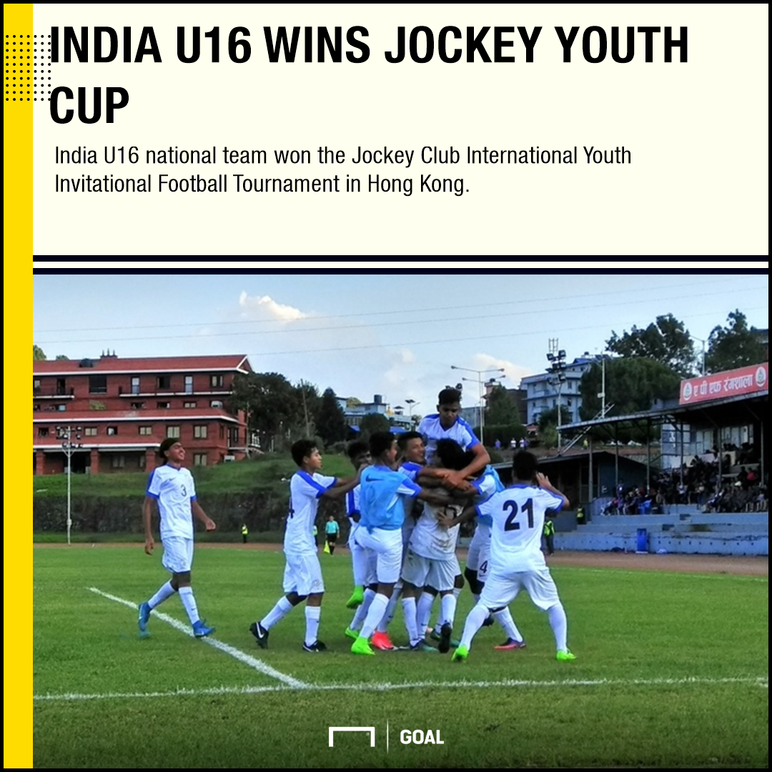 GFX India U16 Jockey Youth Cup champions