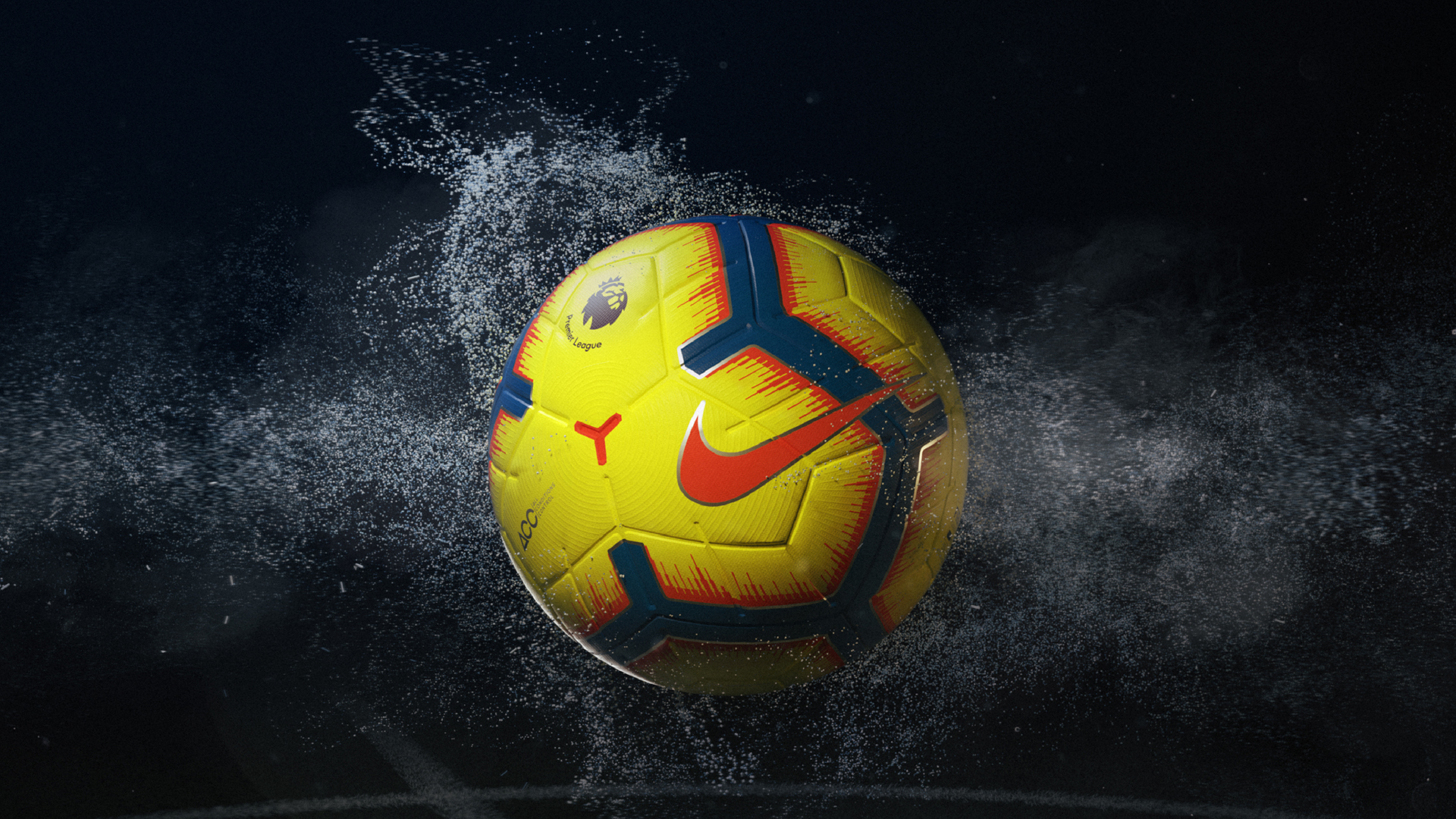 Premier League Merlin Nike ball