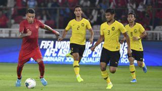 Shahrul Saad, Indonesia v Malaysia, 2022 World Cup qualifier, 5 Sep 2019
