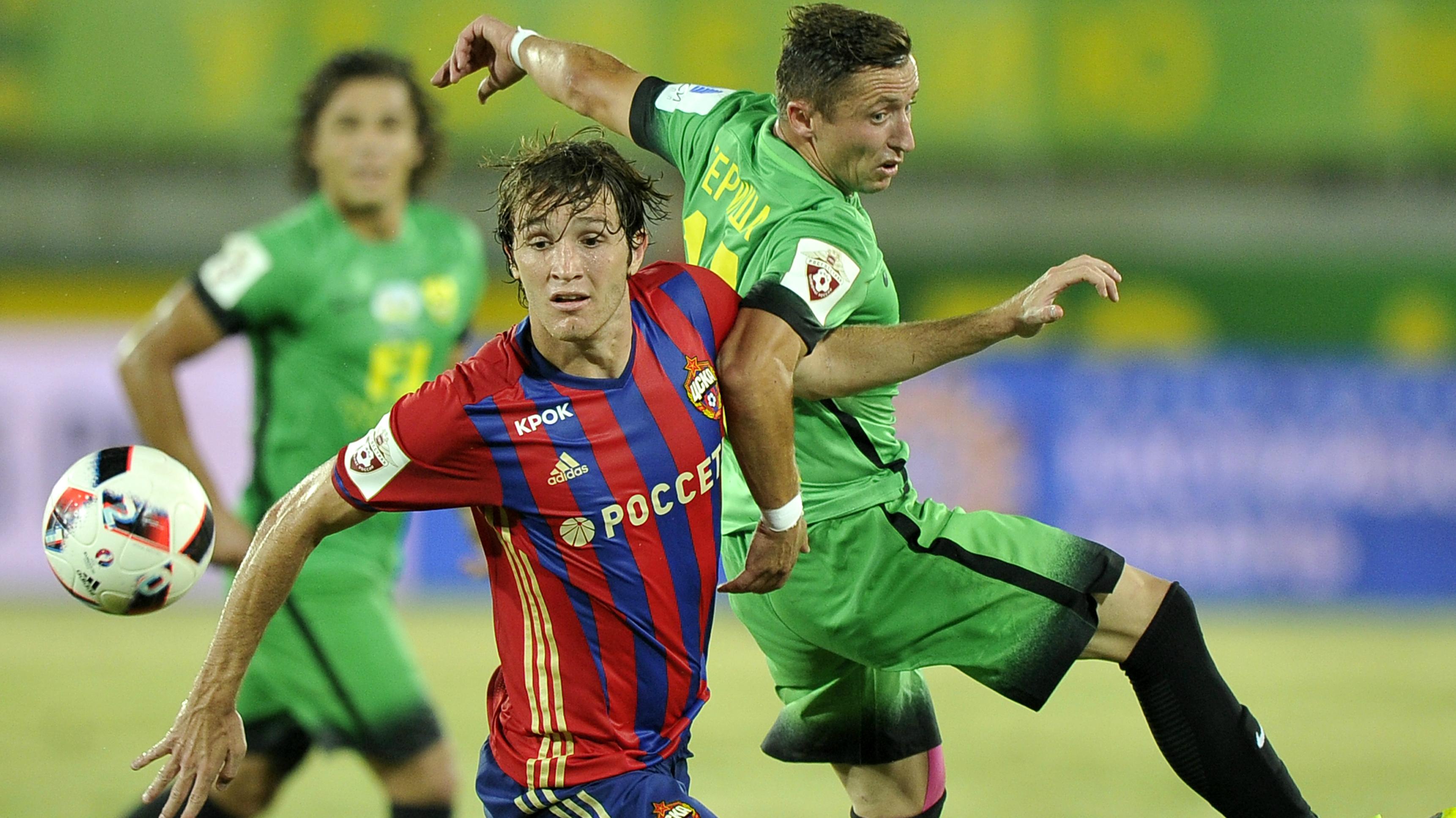 Mario Fernandes CSKA Moscow