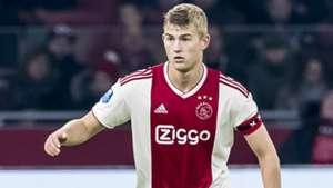 Matthijs de Ligt Ajax Eredivisie 11032018