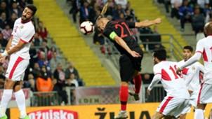 Domagoj Vida Coatia Jordan friendly 15102018