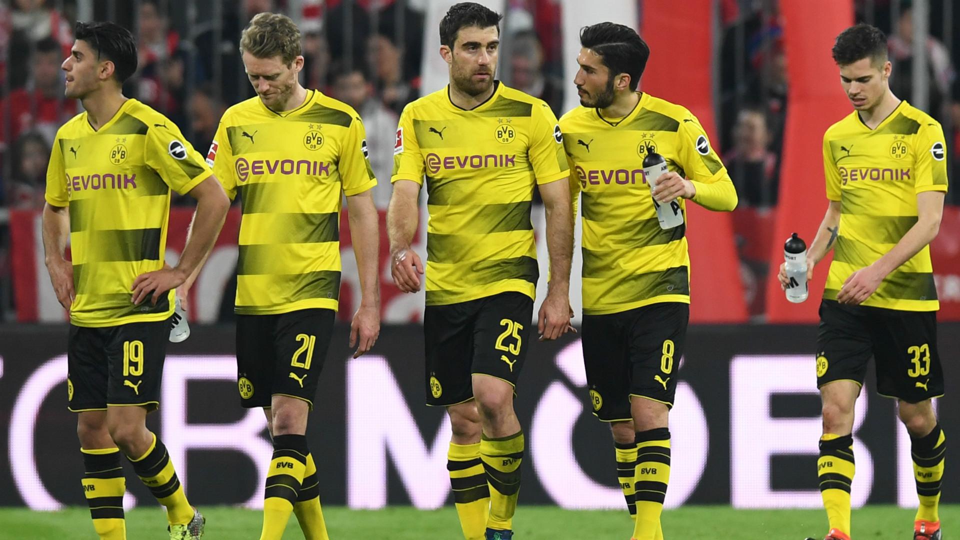 Spielstand Dortmund Bayern