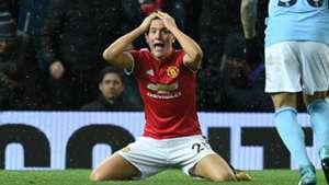 Ander Herrera Manchester United derby dive booking
