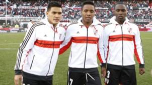 Teofilo Gutierrez Carlos Carbonero Eder Alvarez Balanta River Plate 2014