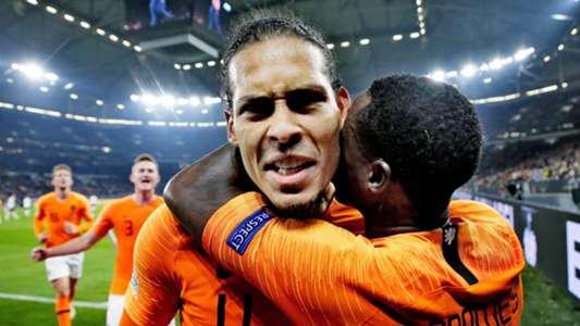 Virgil van Dijk Netherlands