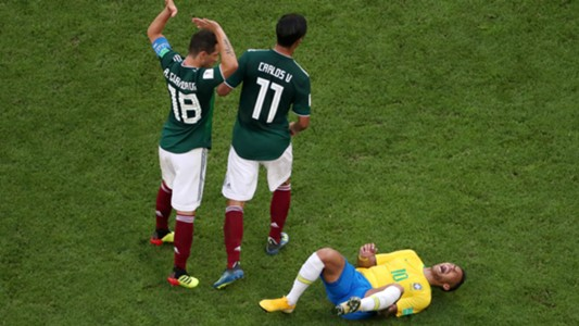 brazil mexico - neymar - world cup - 02072018