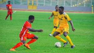 Caf Confederation Cup: AshGold 3-0 Akonangui (Agg: 4-1): Miners cruise into first round with Mumuni hat-trick
